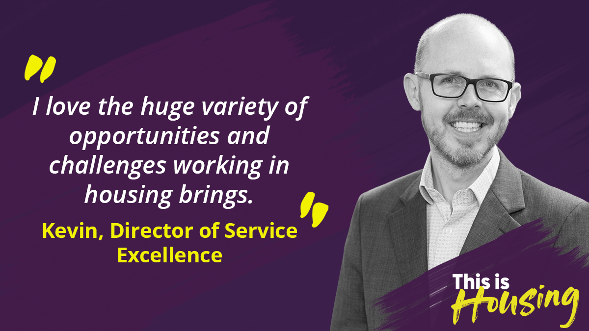 Kevin Howell is Linc Cymru's Director of Service Excellence