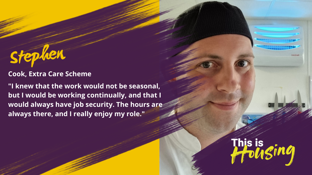 I knew that the work would not be seasonal, but I would be working continually, and that I would always have job security.